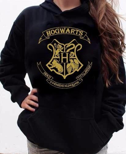 Hogwarts Harry Potter Blusa Moletom Feminino Ou Unissex  R$ 79,50 em Mercado -> Banheiro Feminino Harry Potter