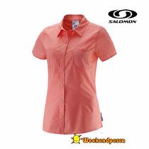 Camisa Salomon Mujer Charmed -weekendpesca-envíos