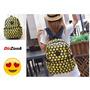Mochila Emoji Juvenil Emoticon Printing Backpacks