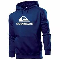 Blusa Moleton Quiksilver - Promoção Frete Grátis