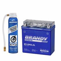Bateria Ybr 125 Ate 2008 Gel Brandy By-gn5.5l + Reparador