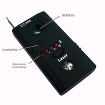 Detector Localizador Portátil Cc308 Camera Escuta Cp75