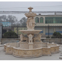 Fonte Escultura Jardim Em Mármore Carrara