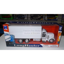 1:32 Peterbilt Model 379 C Caja Torton New Ray C Empaque