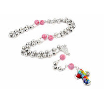 Millefiori 6mm Rosary 26 Necklace With Murano Glass