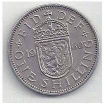 Inglaterra - One Schilling - Año: 1960