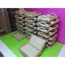 Bandeja Desayuno Fibrofacil 30x40 Cm X 10 Unidades