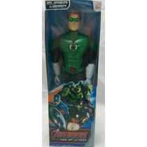 Boneco Liga Da Justiça Lanterna Verde 30 Cm