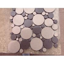 Loseta Esmaltada. Mosaico Circular. Interceramic.
