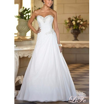 Vestido Noiva Lindo Casamento Pronta Entrega Frete Gratis