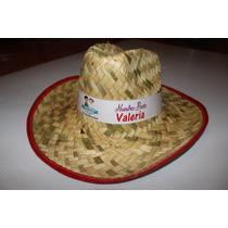 Sombrero Personalizado Boda / Xv Años Etc 200 Pzas. Min.