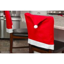 Cubre Sillas Papa Noel, Gorrito, Navidad / Navidenas/ Cena