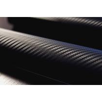 Adesivo Fibra De Carbono Vinil 3d 50cm X1m Envelopamento