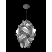 Lustre Pendente G - Balão De Bola Mexicana - 40 X 30 Cm