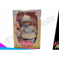 Muñeca Baby Land Funciones Llora Y Chupa Su Chupon