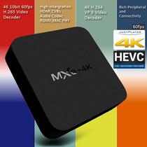 Smart Tv Box Android 4.4 Wifi Full Hd 4k Peliculas Gratis
