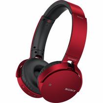 Audifonos Sony Mdr-xb650bt Bluetooth Extrabass Rojos