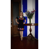 Finos Vestido Bordadas A Mano En San Cristobal-chiapas