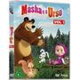 Coleção - Dvds Masha E O Urso Vols. 01, 02 E 03 - Originais