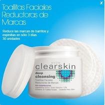 Toallas Faciales Reductoras De Marcas Clearskin Avon