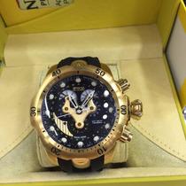 Rélogio Invicta Reserve Venom Preto Gold 14465 12x Sem Juros