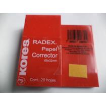 Corrector De Maquina De Escribir Radex Kores