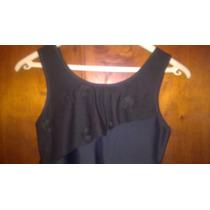 Vestido Lycra Corto Negro Tucci Nuevo Sin Uso Quilmes