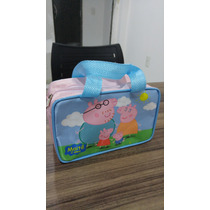 Bolsinha Personalizada Peppa Pig