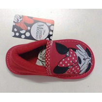 Pantuflas Minnie Licencia Original Mundo Moda Kids