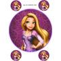 Ilustraciones Comestibles Fototortas Enredados / Rapunzel