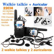 Radio Walkie Talkie T388 Bellsouth + Auriculares