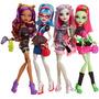 Oferta Monster High Pack 4 Muñecas Noche De Fiesta Original