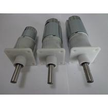 Motorreductor Motor Caja Reductor 12-24 Vcc Diferentes Rpm