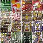 Pliegos Sticker Adhesivo Monster Rockstar Redbull Moto 26x17