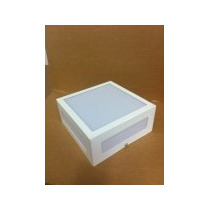 Kit 09lumin. Sobr. 20x20 2 Lâmpadas Vazada C/ Acrlico Alumio