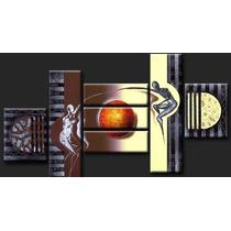 Cuadros Abstractos Modernos Tripticos Polipticos Texturados