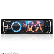 Auto Media Player Mp3 Mp5 Tela Lcd 3 Entrada Usb Cartão Sd