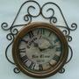 Relógio Parede Colonial Antigo Artesanal Personalizado
