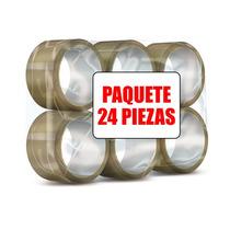 Cinta Canela Transparente Paquete 24 Piezas Leader 48mm 40m
