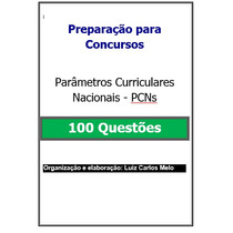 Simulado - 100 Questões Parâmetros Curriculares Nacionais