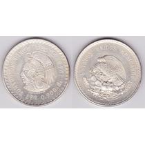 Moneda De 5 Pesos Cuauhtemoc Ley 0.900