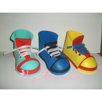 Sapato De Palhaço Eva