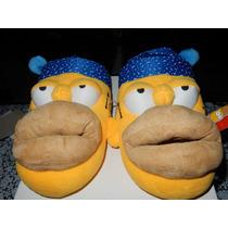 Pantuflas Arra Los Simpsons Homero Originales Nuevas $350