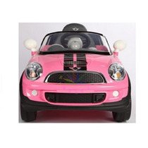 Auto A Bateria Mini Cooper Arcoiris