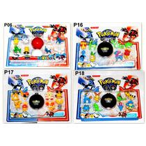 Brinquedo Pokemon Go Kit Com Pokebola Coleção Promoção Ash