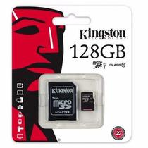 Lote De 10 Memorias Micro Sd Kingston 128 Giga Clase 10!