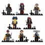 8 Minifiguras Piratas Del Caribe Compatibles Con Lego