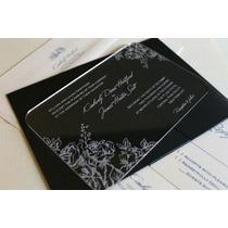 Invitacion Boda Recuerdo Lujo Matrimonio