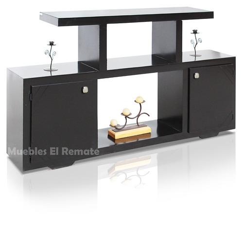 Mesa para tv 60 pulgadas modelo zeus chocolate en monterrey 1 en mercado libre - Muebles de television baratos ...