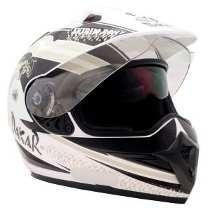 Capacete Bieffe Nomad Dakar Branco Pt 60 Promoção!!!!!